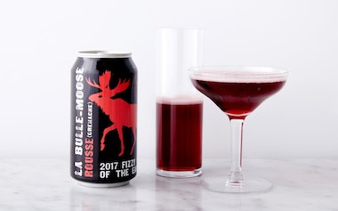 La Bulle-Moose de Cigare Red Fizzy Wine