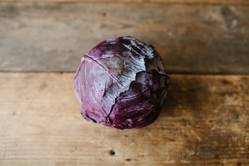 Organic Red Jewel Cabbage