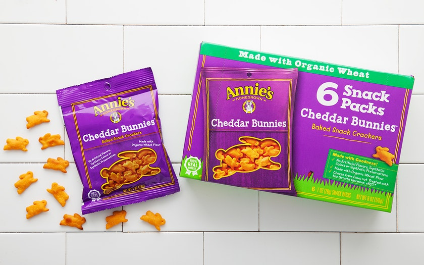 Cheddar Bunnies Snack Packs