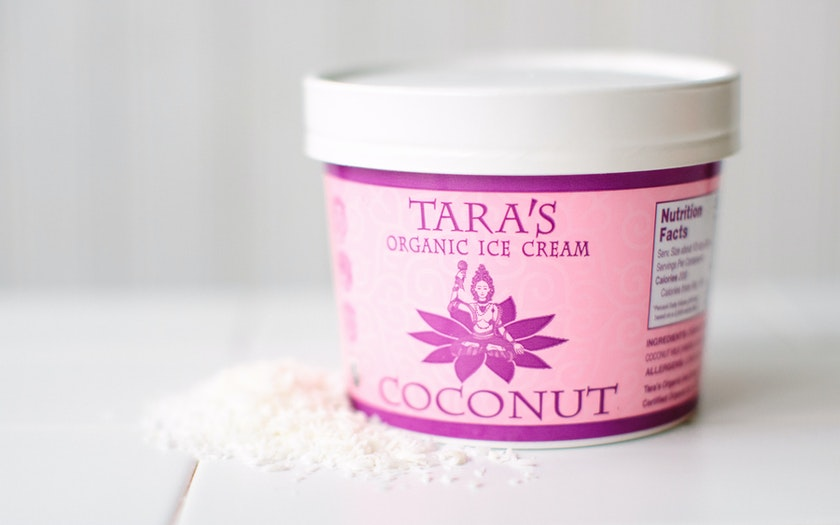 Organic Coconut Ice Cream