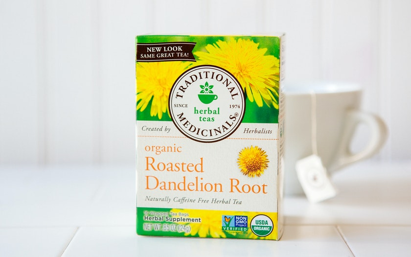 Organic Roasted Dandelion Root Tea Bags