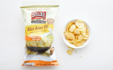 Himalayan Pink Salt Rice Bran Oil Potato Chips