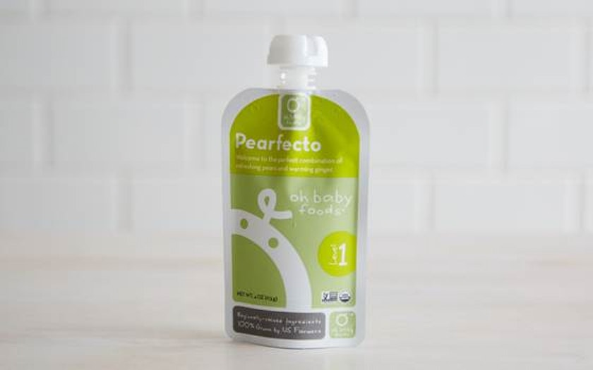 Organic Pearfecto Baby Food Puree (Level 1)